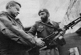 Brzezinski, United States National Security Advisor to President Jimmy Carter, and Tim Osman (Osama bin Laden) - brothers in arms